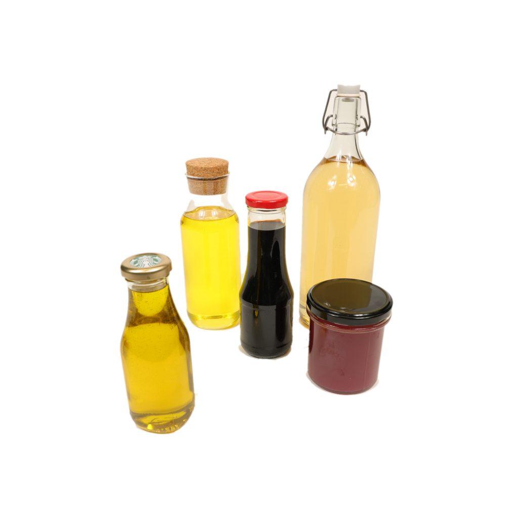 Oleje, octy a omáčky