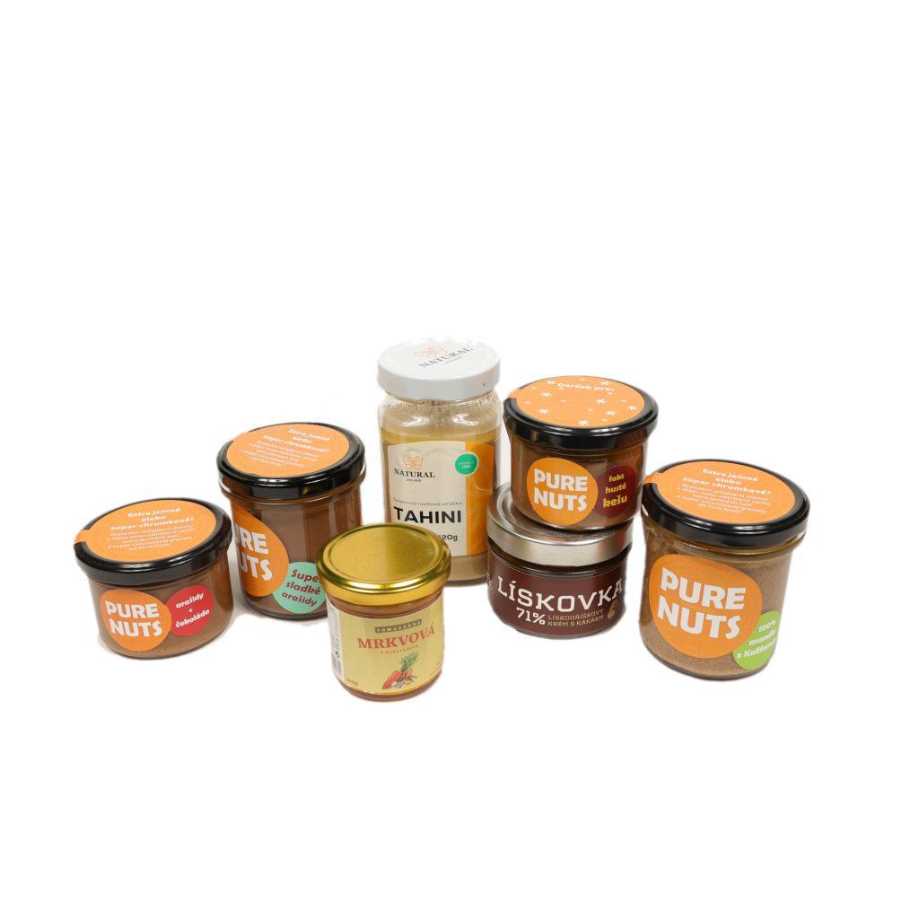 Orechové maslá a nátierky